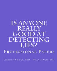 Is Anyone Really Good at Detecting Lies?