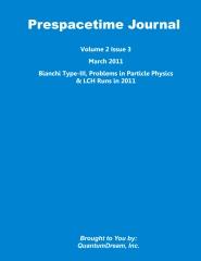 Prespacetime Journal Volume 2 Issue 3