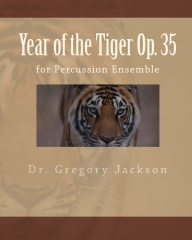 Year of the Tiger Op. 35