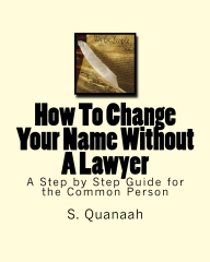 How To Change Your Name Without A Lawyer