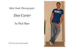 Male Nude Photography- Dan Carter