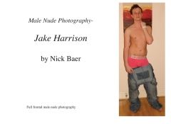 Male Nude Photography- Jake Harrison