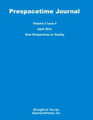 Prespacetime Journal Volume 2 Issue 4