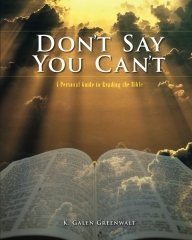 Don't Say You Can't