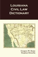 Louisiana Civil Law Dictionary