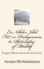 Ex Nihilo Nihil Fit?, or Prolegomena to Philosophy of Reality