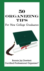 50 Organizing Tips For New College Graduates