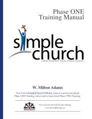 Simple Church Phase ONE Training Manual