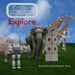 T-Bot And Peabody Explore The Zoo