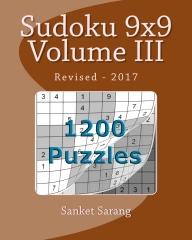 Sudoku 9x9 Vol III