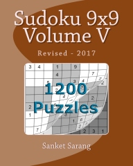 Sudoku 9x9 Vol V