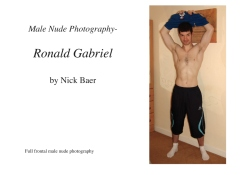 Male Nude Photography- Ronald Gabriel