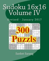 Sudoku 16x16 Vol IV