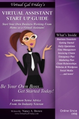 Virtual Gal Friday's Virtual Assistant Startup Guide