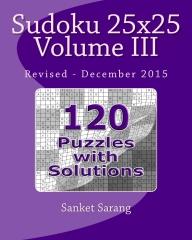 Sudoku 25x25 Vol III