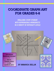 Coordinate Graph Art for Grades 6-8