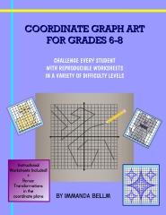 Coordinate Graph Art for Grades 6-8