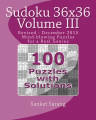 Sudoku 36x36 Vol III