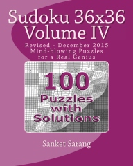 Sudoku 36x36 Vol IV