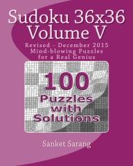 Sudoku 36x36 Vol V