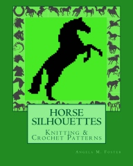 HORSE SILHOUETTES Knitting & Crochet Patterns