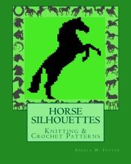 HORSE SILHOUETTES Knitting & Crochet Patterns