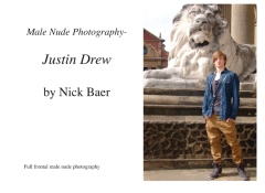 Male Nude Photography- Justin Drew