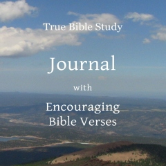 True Bible Study - Journal with Encouraging Bible Verses