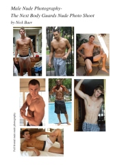Male Nude Photography- The Next Body Guards Nude Photo Shoot
