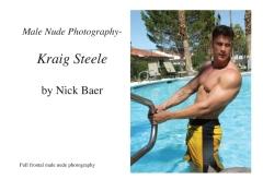 Male Nude Photography- Kraig Steele