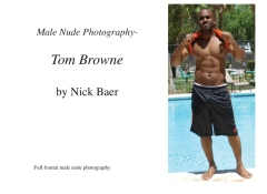Male Nude Photography- Tom Browne