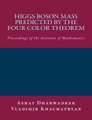 Higgs Boson Mass predicted by the Four Color Theorem