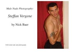 Male Nude Photography- Steffan Vergene