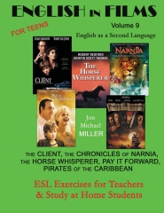 English in Films Volume 9, For Teens:  English as a Second Language