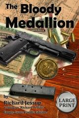 The Bloody Medallion [Large Print]