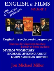 English In Films Vol. 3:  For Advanced Students--English as a Second Language