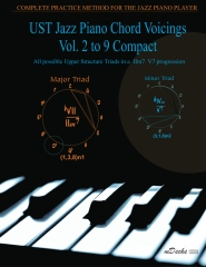 UST Jazz Piano Chord Voicings Vol. 2 to 9 Compact