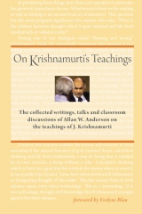 On Krishnamurti's Teachings
