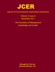 Journal of Consciousness Exploration & Research Volume 2 Issue 8