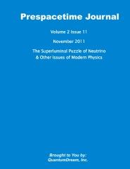 Prespacetime Journal Volume 2 Issue 11