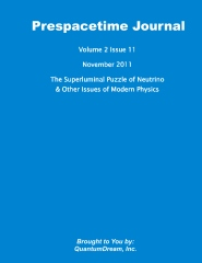 Prespacetime Journal Volume 2 Issue 11