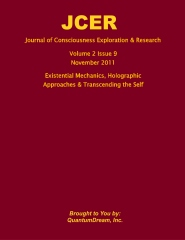 Journal of Consciousness Exploration & Research Volume 2 Issue 9