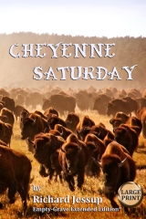 Cheyenne Saturday [Large Print]