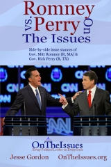 Romney vs. Perry On The Issues