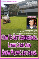 How To Get Commercial Lawn Care And Snow Plow Customers.