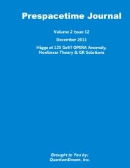 Prespacetime Journal Volume 2 Issue 12