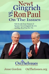 Newt Gingrich vs. Ron Paul On The Issues