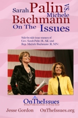 Michele Bachmann vs. Sarah Palin On The Issues