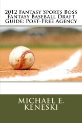 2012 Fantasy Sports Boss Fantasy Baseball Draft Guide