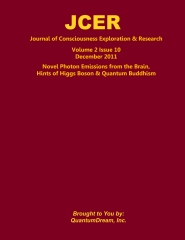 Journal of Consciousness Exploration & Research Volume 2 Issue 10